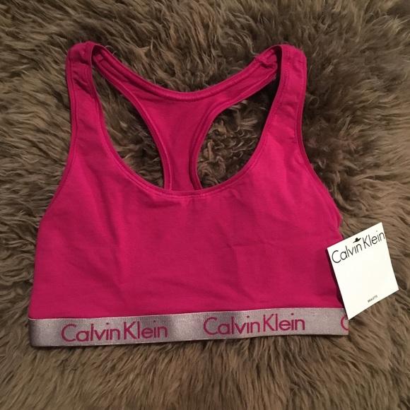 facefeadd12a Calvin Klein Intimates & Sleepwear | Nwt Radiant Cotton Bralette ...